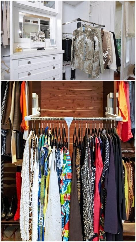 Pull Out Closet Rod by The Ideal Closet Pull Out Rod Live Simply By