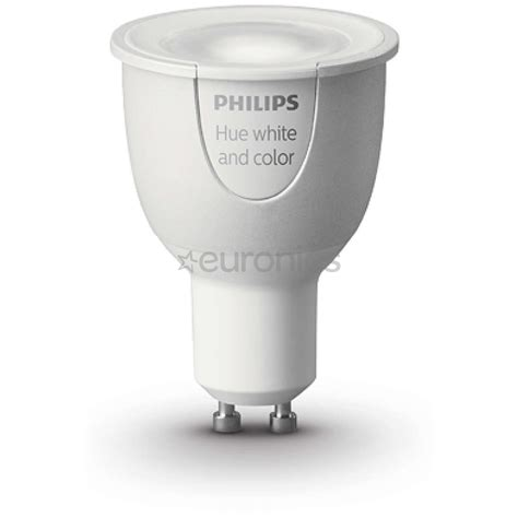 Hue Led Light Bulb, Philips  Gu10 Socket, 8718696485880