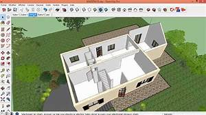 Dessiner des plans de maison 0 tuto gratuit dessiner sa for Plan maison sketchup gratuit