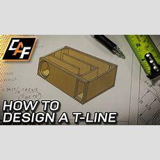 How To Design Transmission Line Subwoofer Enclosure  Youtube