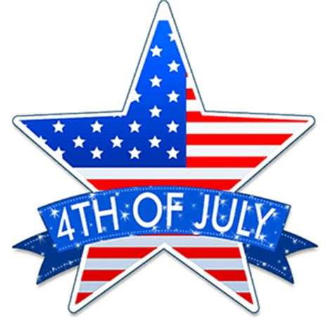 Free 4th Of July Clip Art - Independence Day - Animated Gifs