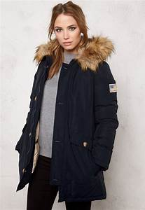 Svea Miss Smith Jacket Navy - Bubbleroom