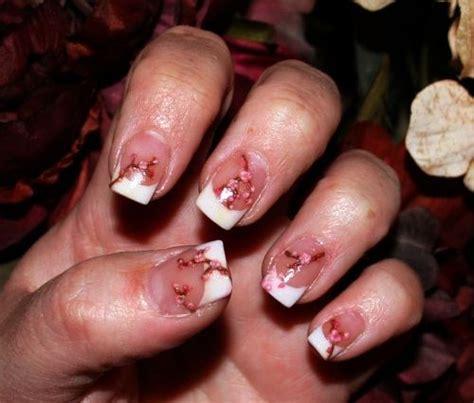 day  acrylic cherry blossom nail art nails magazine