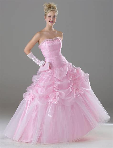pink wedding dress dressedupgirl com
