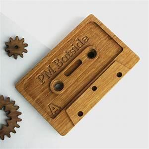 Personalised, Compact, Cassette, Door, Wedge, By, Wood, Paper, Scissors