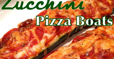 Zucchini Pizza Boats In Oven by A Healthy Makeover Zucchini Pizza Boats