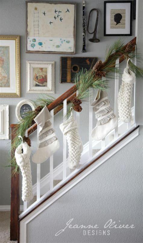 Holiday Banister Decorating Ideas Satsuma Designs