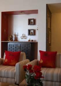 contemporary minimalist  simple deity space mandir