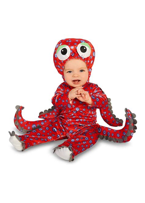 red octopus baby boys costume animal costumes