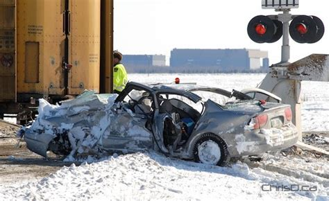 Collision With Train Sends Man To Hospital