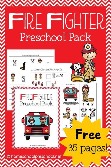 save the day with this free fireman themed preschool 867 | c2b5c5c31cd0efc26adcabd61e767589
