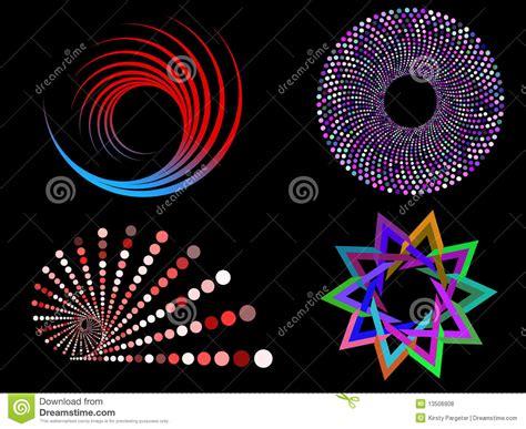 circular designs royalty  stock  image