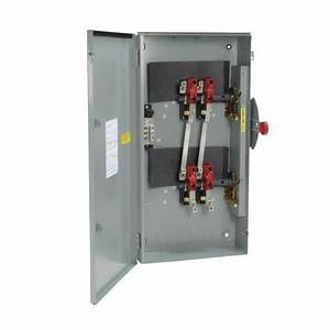 Eaton 200 Amp Manual Transfer Switch