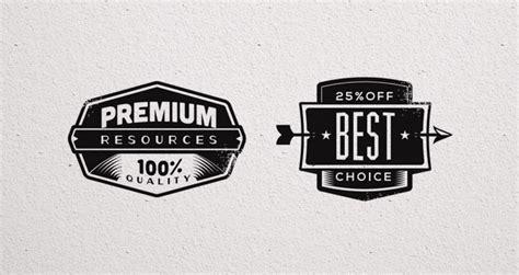 promo vector retro badges vintage decorative vectors