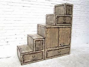 Treppe Mit Schubladen : china kleine stufen treppen kommode cremewei viele ~ Michelbontemps.com Haus und Dekorationen