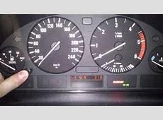Kasowanie Inspekcji BMW 5 E39 Oil Service Indicator Light