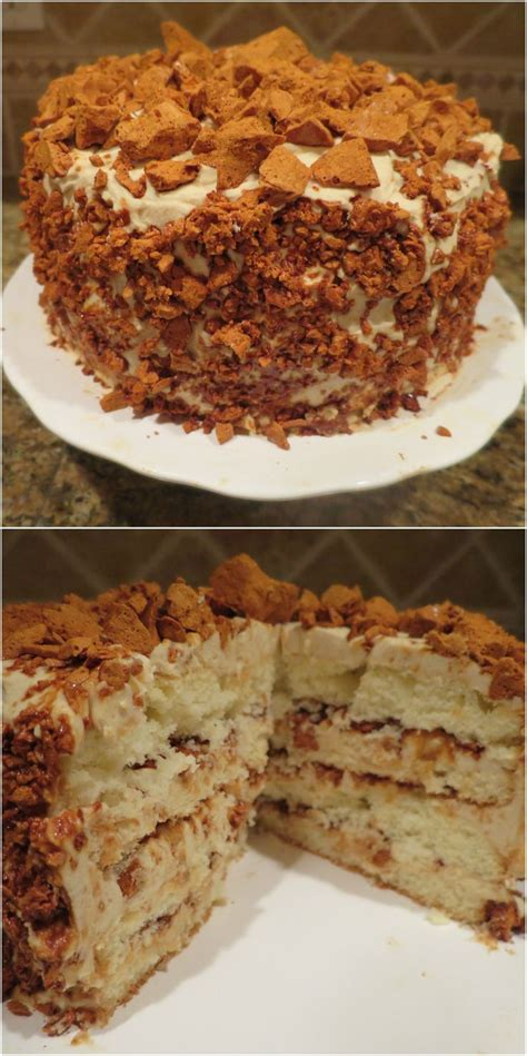 Keep the crunch separate as you chill. Coffee Crunch Cake - a signature dessert from Blum's of San Francisco | Crunch cake, Desserts ...