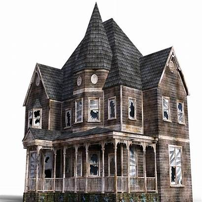 Haunted Halloween Horror Abandoned Nightmare Scary Villa