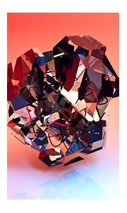 Wallpaper Wallpaper 3D, abstract, shapes, 4k, Abstract 3D ...