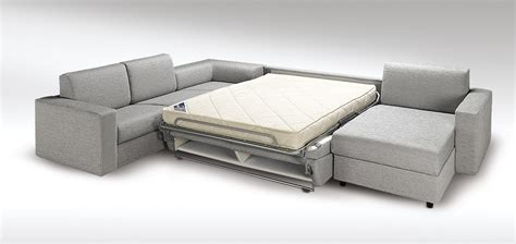 canapé d 39 angle convertible en vrai lit roma