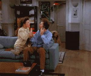 george costanza falling gif find share on giphy With george costanza bathroom