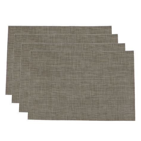 Dining Table Place Mats - pvc insulation pad placemat green dining table kitchen