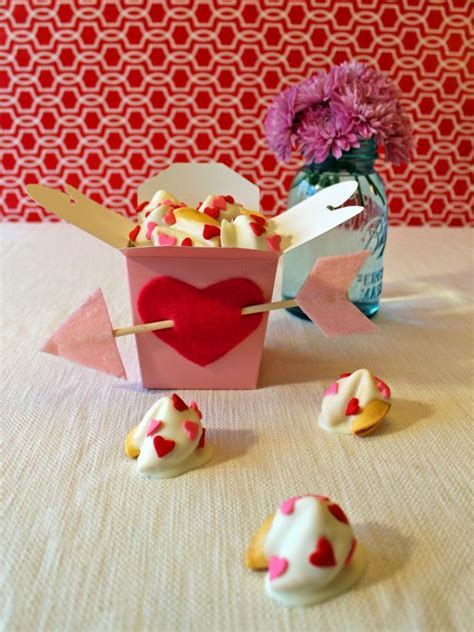 valentines day kids craft white chocolate dipped