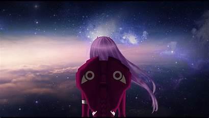 Darling Franxx Zero Anime Sky Dark Clouds