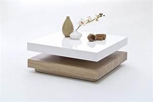 Couchtisch Lack Ikea : halo couchtisch hochglanz lack wei drehbar weiss eiche s gerau ~ Markanthonyermac.com Haus und Dekorationen