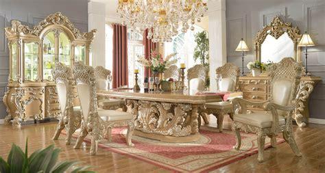 11 Piece Homey Design Royal Kingdom Hd-7012 Dining Set