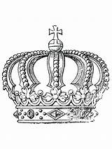 Coloring Pages Adult Crown Cool King Symbols Wearing Printables Gaddynippercrayons Bible sketch template