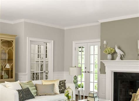 living room two tone walls yellow paint colors for on