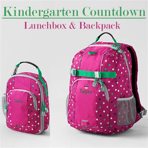 spry on the wall kindergarten countdown 27 days 541   kindergarten countdown backpack lunchbox