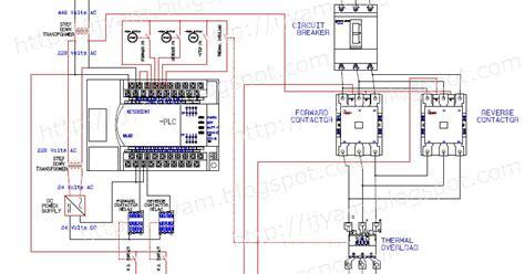 Electrical Wiring Diagram Forward Reverse Motor Control
