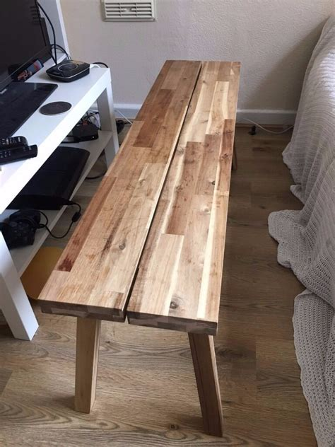 ikea skogsta benchcoffee table  sale urgent