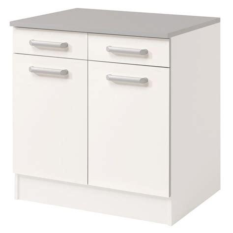 meuble bas cuisine 2 portes 2 tiroirs meuble bas 2 tiroirs 2 portes 60 cm quot shiny quot blanc
