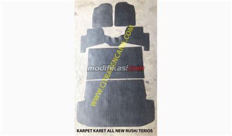 Karpet Mobil Terios karpet karet all new terios