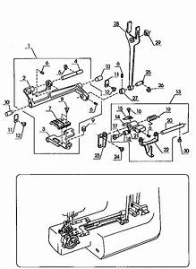 Kenmore 38512916890 Mechanical Sewing Machine Parts