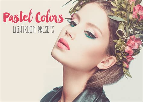 pastel colors lightroom presets actions  creative market