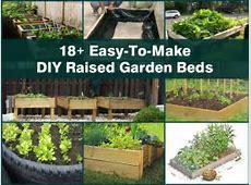 18+ EasyToMake DIY Raised Garden Beds