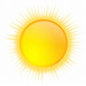 Clipart - weather icon - sunny