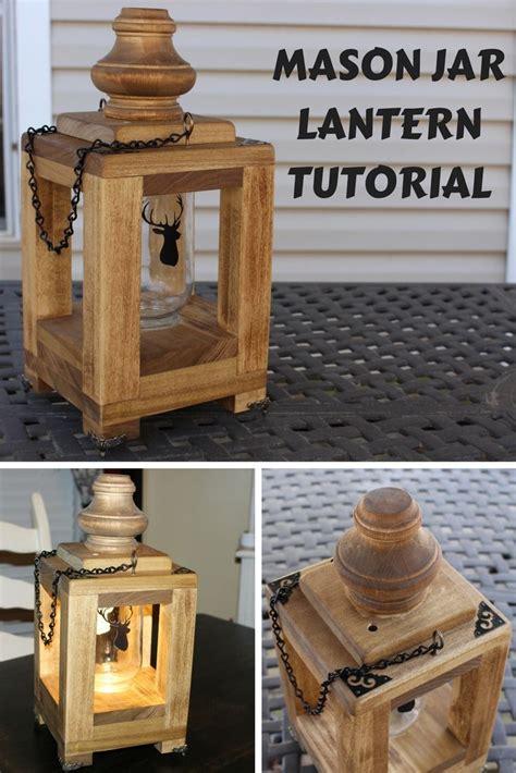 mason jar lantern mason jar lanterns wooden diy