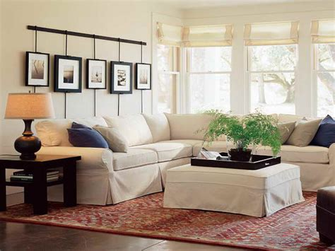 Traditional Pottery Barn Sectional Sofas
