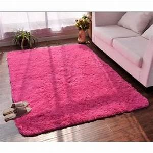 tapis chambre tapis salon carpet denfant yoga shaggy With tapis framboise salon