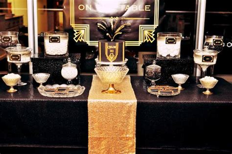 Kara's Party Ideas Great Gatsby Themed Birthday Party