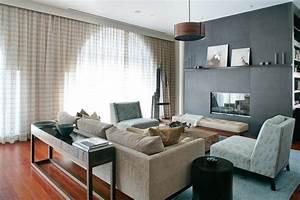 Wohnzimmer Gestalten Grau : wohnzimmer in braun und beige einrichten 55 wohnideen ~ Michelbontemps.com Haus und Dekorationen