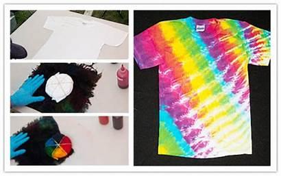 Dye Tie Shirt Diy Shirts Tutorial Patterns