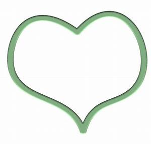 Green Heart Clipart