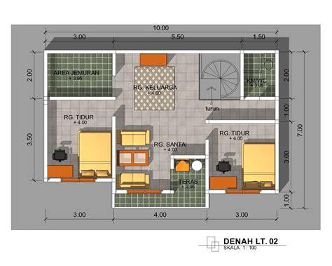 gaya desain rumah modern ukuran  yg  diinginkan
