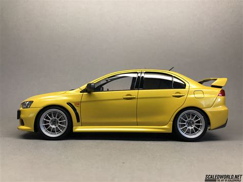 Evo X Edition by Aoshima Mitsubishi Evo X Edition Scaledworld